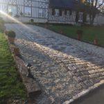 terrassement, pavage, Deauville